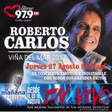27-08-15 - #LaMañanaPresenta #ENVIVO - #RobertoCarlos #ViñaDelMar2011