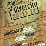 SQUNC DJ Set @ Soul of Divercity, Zurich (24.11.2012)