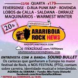 # 179 Arariboia Rock News - 22.08.2018 - Especial Sound Bullet