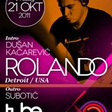 Dusan Kacarevic live mix from The Tube club PART 1 21/10/2011