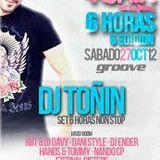 Toñin @ Harder, Fiesta 6 Horas, Sala Groove, Pinto, Madrid , Parte 1 (2012)