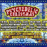Dj Sake - live@Psychedelic Christmas, Magda, Mainfloor Berlin Dez2016