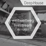 @ weitweitweg-club // Trier // 18.11.2017 // Deep House