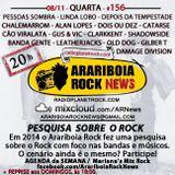 # 156 Arariboia Rock News - 08.11.2017 - Especial Pesquisa Arariboia Rock