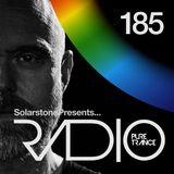 Solarstone presents Pure Trance Radio Episode 185