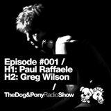 The Dog & Pony Radio Show #001: Greg Wilson