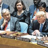 Beyond Laughing at Trump, What Happened at the United Nations Last Week