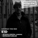 E1D, DJD & Punks Music on Reprezent - 24th September 2016