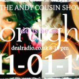 The Andy Cousin Show 11-01-2017