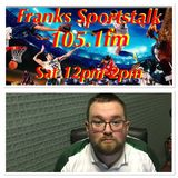 Franks Sportstalk John White Carrick Utd