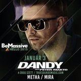 Peter Makto aka Dandy - Be Massive /Hello 2015/ 4hrs live set - Corvintető, Budapest 2015.01.03.