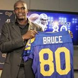 Isaac Bruce Superbowl Final Preview LA Rams vs New England Patriots Interview