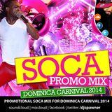 DJ SPAWNER DOMINICA CARNIVAL 2014 SOCA MIX