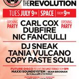 Carl Cox - Live @ Space Ibiza, The Party Unites (Opening Party) - 10.07.2013