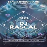 DJ Rascal - Mix Live - Bar-Club - Bruxelles - for beach-Radio.co.uk 24.01.19 10pm