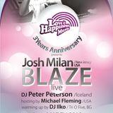 Josh Milan (Blaze) live @ L&HM 3 Years Anniversary @ Sofia Live Club; part 1