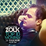 August 2015, Brazilian Zouk Top 10, Dj Zoukman