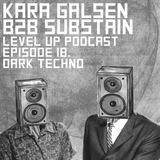LEVEL UP podcast session with kara galsen B2B Substain [episode 18]