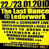 NDK (Live PA) @ The Last Dance II - Club Lederwerk Neustadt/Orla - 23.01.2010