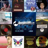 DEEPINSIDE RADIO SHOW 063 (Lem Springsteen Artist of the week)