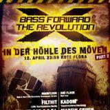 FILTHIT @Bass Forward The Revolution - 12.04.14  - Rote Flora / Hamburg