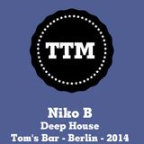NikoB - Deep House - Tom's Bar - Berlin - 2014