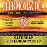 Dazz Norman live at Club Momacoca - Dance Hard 23rd Feb 2019