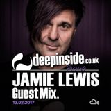 JAMIE LEWIS is on DEEPINSIDE #02