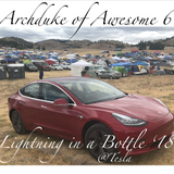 Archduke of Awesome Lightning in a Bottle 2018 @ Tesla