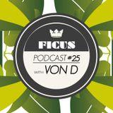 FRS #25 w/ VON D (Chateau Bruyant, Boka, lutetia Dubz) & Ficus