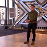 X FACTOR CONTESTANT LLOYD MACEY SPEAKS TO GAYNOR WEBSTER AND MADGE SIMCOX ON RHONDDA RADIO