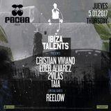 TAIA - Ibiza Talents Podcast #55 for Thursday 5th January 2017 @ Pacha Ibiza