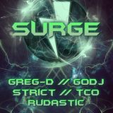 DJ Greg D. - Promo mix for Surge 18.05.'13