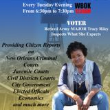 The Watch Tower Hour by MAJOR Tracy Riley (US Army Retired) Aug 23, 2016 on WBOK1230AM  New Orleans