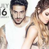 Dino MFU & Xenia Ghali Live at Copla Lefkada 16.7.16