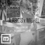 A.Asitis b2b Michel - Backroom live @ Lift12 (18-07-2014)