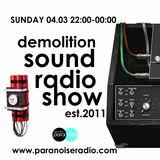 Demolition Sound Radio Show (Monthly_04/3/18) part.1