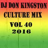 Dj Don kingston culture mix Vol 40.