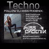 Episode 402 DJ Miss Phoenix 2016 Techno 1 hour mix