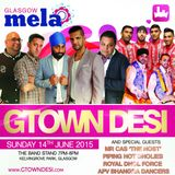 Gtown Desi - The Glasgow Mela 2015 Summer Jam Mix