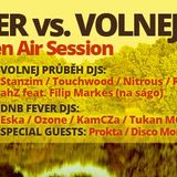 DJ ahZ feat. Filip Markes live on sax 27.9.2014 DNB Fever Motol Open Air