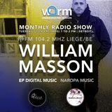 WARM UNDERGROUND SESSION presente William Masson  DJ SET  WARM 104.2 MHZ LIEGE  -18 juin 2019