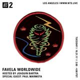 Favela Worldwide w/ Joaquin & Paul Marmota - 31st October 2017