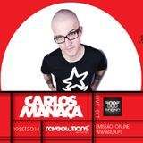 CARLOS MANAÇA LIVE SET @ BOILER STUDIO RAVEOLUTIONS