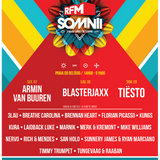 Tiësto - LIVE @ RFM Somnii Portugal, 09/07/17