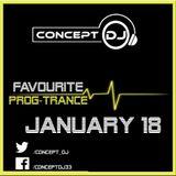 Concept - Favourite Prog-Trance January 18 (13-01-2018)