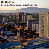 DJ Bolivia - Live in San Jose, CD2