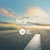 Ibiza Live Radio Dj Mix (Distance) - Global House Session with Marga Sol