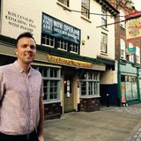 Olde Kings Arms, Hemel Hempstead New Landlord Ben interview on Radio Dacorum with Matt