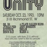 DJ Ruffneck Live (Part 1) at Unity (Sykosis/Infinity) Blue Jays World Series Rave October 23 1993